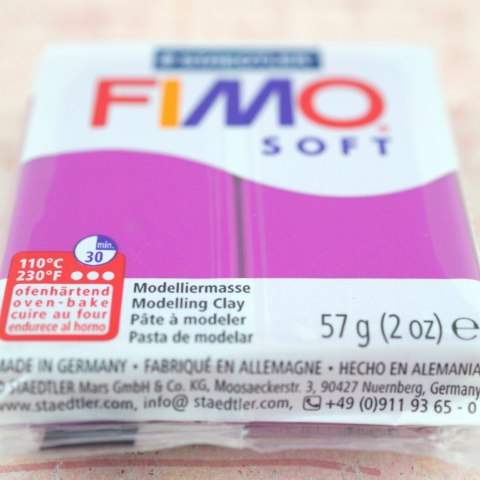 FIMO SOFT PURPUROWY -61